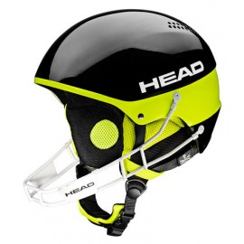 Casque de ski Head Stivot Youth Sl + Chinguard Black 2017