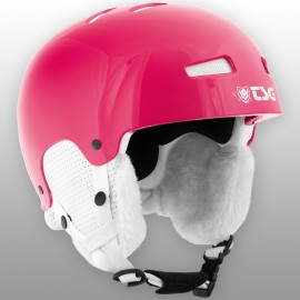 Casque de Ski TSG Lotus Solid Solor Gloss Rubin