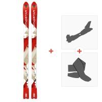 Ski Dynastar Cham Alti 79 2014 + Fixations randonnée + Peau