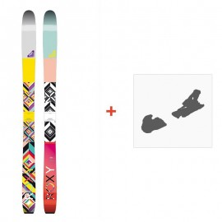 Ski Roxy Shima 2016 mit Skibindungen