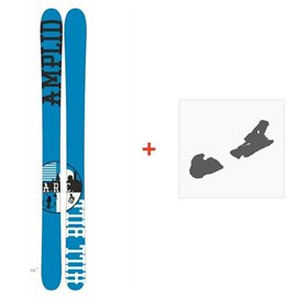 Ski Amplid The Hill Bill 2015 + Ski Bindings