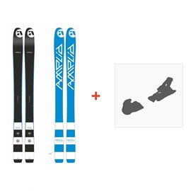 Ski Amplid Ego trip evolution 2015 + Ski Bindings