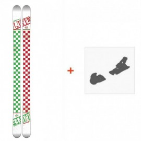 Ski Line Afterbang 2016 + Fixation de ski