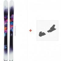 Ski Scott Layla 2015 + Fixation de ski