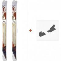 Ski Nordica Nemesis 2015 + Fixation de ski
