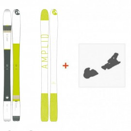 Ski Amplid Ego trip evolution 2016 + Ski Bindings
