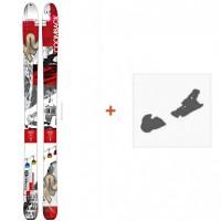 SKI K2 Coomback 104 2016 + Fixation de ski