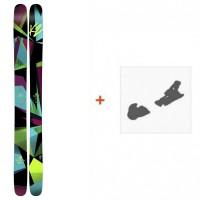 Ski K2 Remedy 112 2017 + Fixation de ski