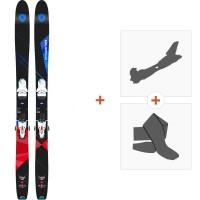 Ski Dynastar Cham 2.0 107 2017 + Fixations randonnée +  Peau