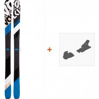 Ski Völkl 90Eight 2016 avec Fixation de ski