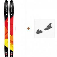 Ski Dynastar Cham High Mountain 107 2015 + Fixation de ski