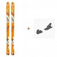 Ski Dynastar Cham Alti 89 2014 + Fixation de ski