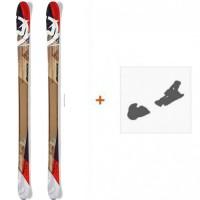 Ski Nordica Peshewa 2016 avec Fixation de ski