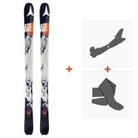 Ski Atomic Backland 95 2017 + Fixations randonnée avec Peau