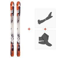Ski Atomic Backland 85 2017 avec Fixations randonnée et Peau