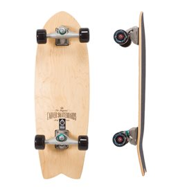 """Surf Skate Carver Swallow Clearwood 29\\"""" Complete"""