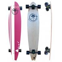 Longboard Kahuna Beach Board Retro Pink 48'' 2016