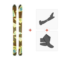 Ski Scott Superguide 105 2017 + Fixations randonnée + Peau