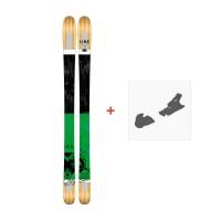 Ski Line Supernatural 92 2017 + Fixation de ski