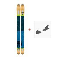 Ski Line Supernatural 108 2017 + Fixation de ski