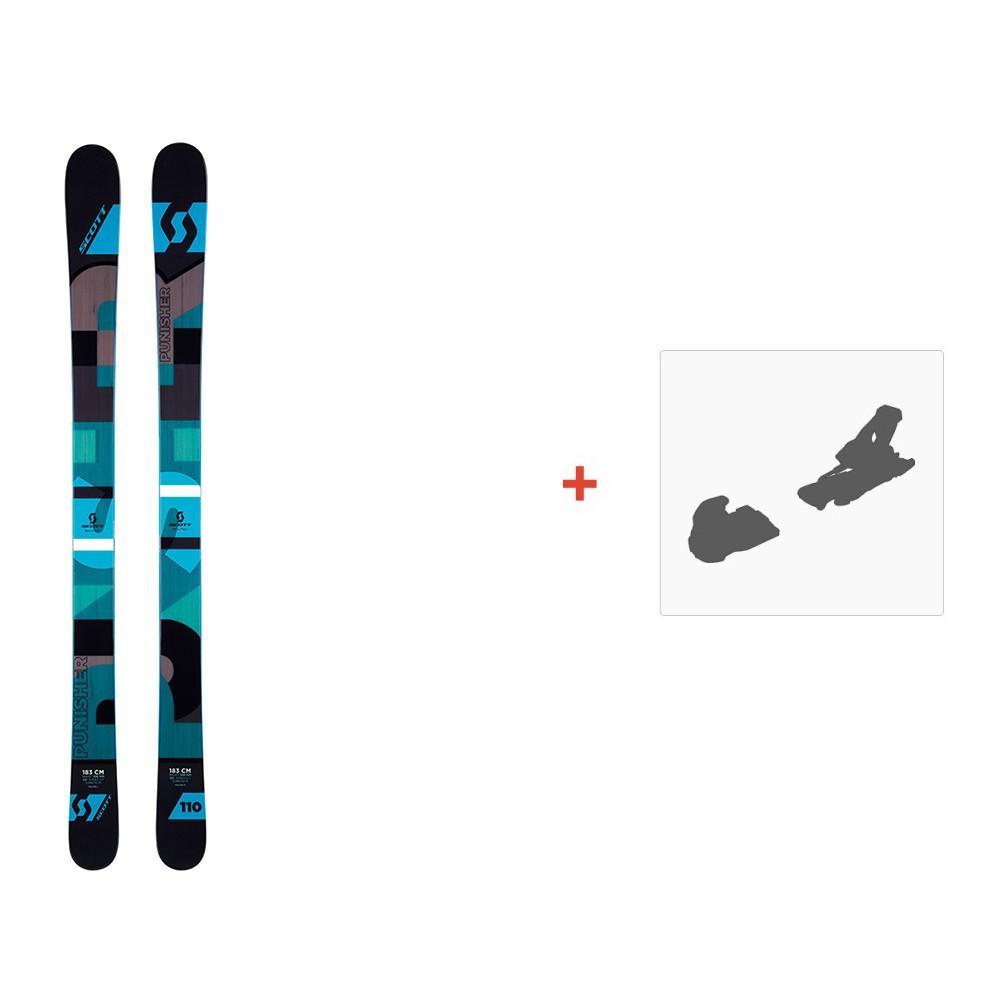 ski scott punisher 110 2016 fixation de ski. Black Bedroom Furniture Sets. Home Design Ideas