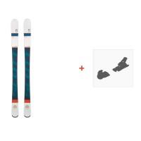 Ski Scott Luna 2016 + Fixation de ski