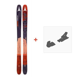Ski Atomic Backland FR 102 + Ski bindings 2017