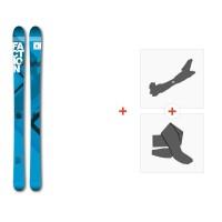 Ski Faction Agent 90 2017 + Fixations randonnée + Peau
