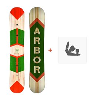 Snowboard Arbor Foundation 2016 + Fixations