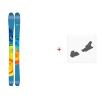 Ski Line Pandora 95 2017 + Fixation de ski