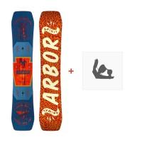 Snowboard Arbor Draft 2016 + Fixations