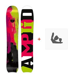 Snowboard Amplid The Morning Glory 2015 + Fixations