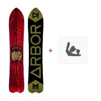 Snowboard Arbor Shreddy Krueger 2016 + Fixation