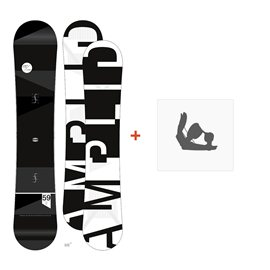 Snowboard Amplid The Unw8 2015 + Fixation