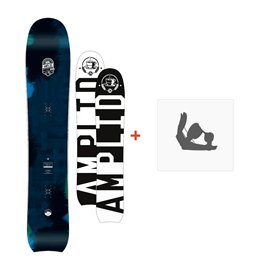 Snowboard Amplid The Morning Glory 2016 + Fixation