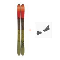 Ski K2 Poacher 96 2017 + Ski Fixation