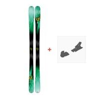 Ski K2 Missconduct 2017 + Skibindungen