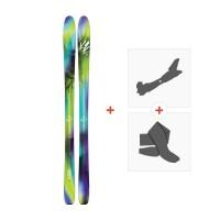 Ski K2 Fulluvit 95 2018 + Fixations randonnée + Peau