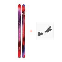 Ski K2 Alluvit 88 2018 + Fixation de ski