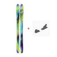 Ski K2 Fulluvit 95 2018 + Fixation de ski