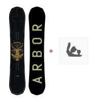 Snowboard Arbor Element Black 2016 + Fixations