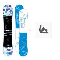 Snowboard Amplid Gogo 2016 + Fixation
