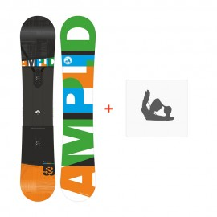 Snowboard Amplid Paradigma 2016 + Fixiation