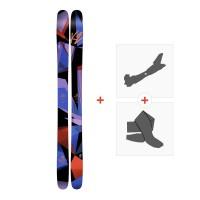 Ski K2 Remedy 102 2017+ Fixations randonnée + Peau