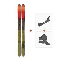 Ski K2 Poacher 96 2017 + Fixations randonnée + Peau
