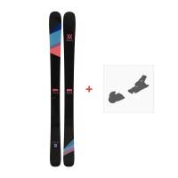 Ski Völkl Aura 2017 + Fixation de ski