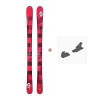 Ski Scott Punisher 95 W 2017 + Fixation de ski