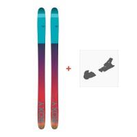 Ski Roxy Shima 90 2017 + Fixation de ski