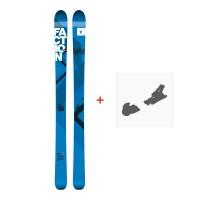 Ski Faction Agent 90 2017 + Fixation de ski