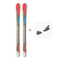 Ski Nordica Belle 88 2017 + Fixation de ski